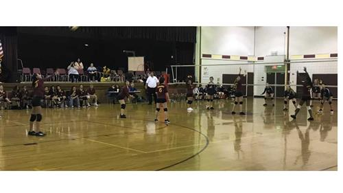 PCMS Volleyball VS Ainger