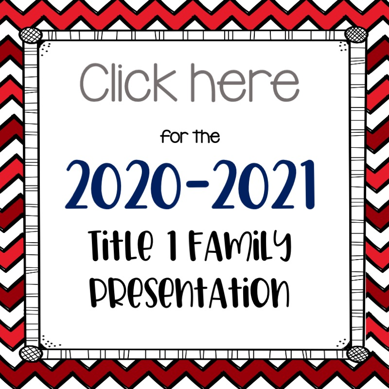 Title 1 Family Virtual Meeting